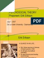 Psycho Social Theory