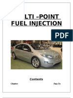 Multi Point Fuel Injection System