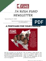 Santa Rosa Fund Newsletter 38