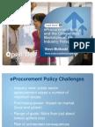 Session 3 eProcurement and the Competitive Marketplace- Stephen Mutkoski 221111