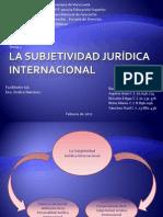 La subjetividad jurídica internacional (Final)