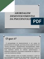 Abordagem Desenvolvimental Da Psicopatologia