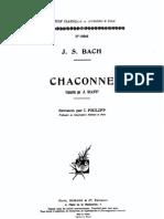 Bach Raff Chaconne