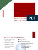 Social Media Primer for Journalism Students