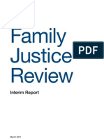 Family Justice Review (2011), Family Justice Review Interim Report