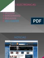 Paginas electronicas