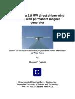 Wind Farm Model