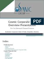 Cosmic Corporate Park @ 9953518822, 9718337727 Cosmic Park Greater noida