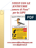 Contest Con Le Lenticchie