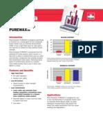Pure Wax Data Sheet