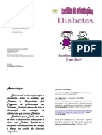 Cartilha Diabetes