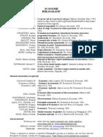 Bibliografie Economie 2011 Comert