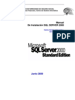 Pdr 041 Instalacion SQL Server