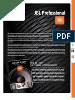 Jbl Pro Catalog 2011