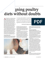 Designing Poultry Diets Without Doubts