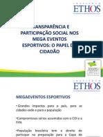 Apresentação Intituto Ethos - projeto Jogos Limpos RJ - Seminário ALERJ 25.11.11