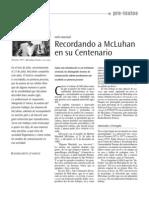 McLuhan entrevistado por Margarita D'Amico
