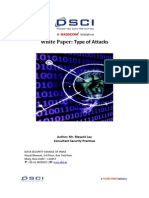 Type of Attacks DSCI White Paper 1