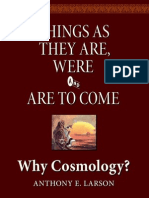 Why Cosmology?