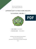 Tugas Audit k3 ( Kesehatan dan Keselamatan Kerja )