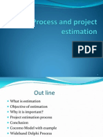 Project Estimation 2