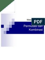Permutasi Dan Kombinasi -Binomial