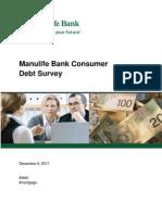 Manulife Bank Consumer Debt Survey