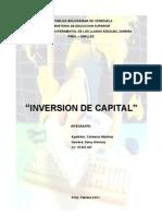 Inversion de Capital