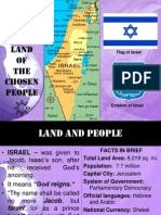 Israel, Land of the Chosen People1