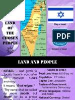 Israel, Land of the Chosen People1
