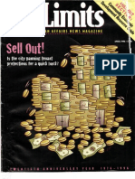 City Limits Magazine, April 1996 Issue