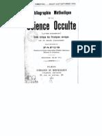 Papus Science Occulte