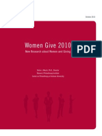 Women Give Report