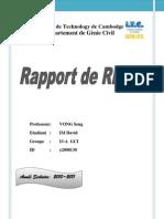 Rapport Rdm
