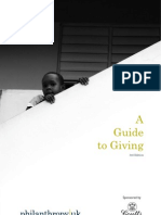 A Guide to Giving