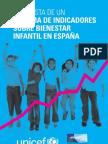 Propuesta de un Sistema de Indicadores sobre Bienestar Infantil en España