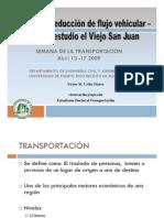 Medidas de Reduccion de Flujo Vehicular-Caso de Estudio El Viejo San Juan_Ing. Victor Uribe