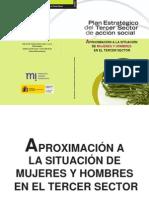 Aproximación a la Situacion de Mujeres y Hombres en el Tercer Sector