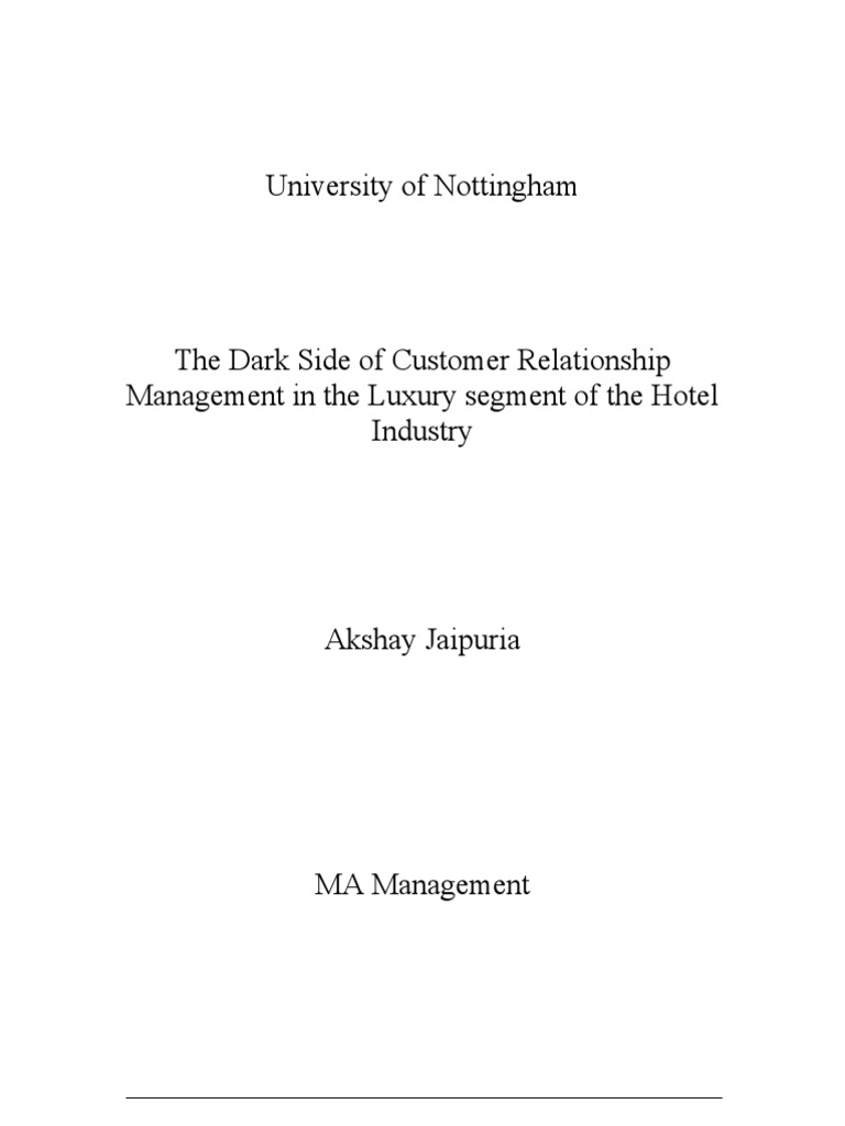 Phd thesis on consumer satisfaction