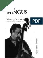 Charles Mingus - Moins Qu'Un Chien Autobiographie