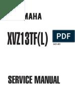 Yamaha XVZ1300 TF L Royal Star 1999 2003 Service Manual