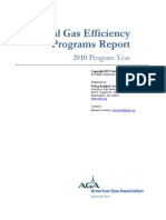 AGA Natural Gas Efficiency Programs Report - 2010 Program Year - FINAL - DeC 2011