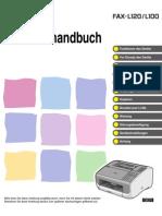 Benutzerhandbuch Fax L100 120