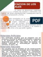 Clasificacion de Los Materiales Tecnologias