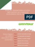 Guía para Implantar un Comedor Ecológico en un Centro Educativo