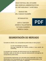 SEGMENTACIÓN DE MERCADO1