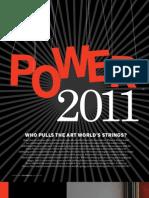 POWER 100 List Art&Auction Dec 2011