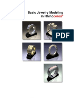 Basic Jewelry Modeling in Rhino