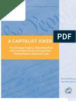 A Capitalist Joker