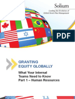 Granting Equity Globally - Part 1